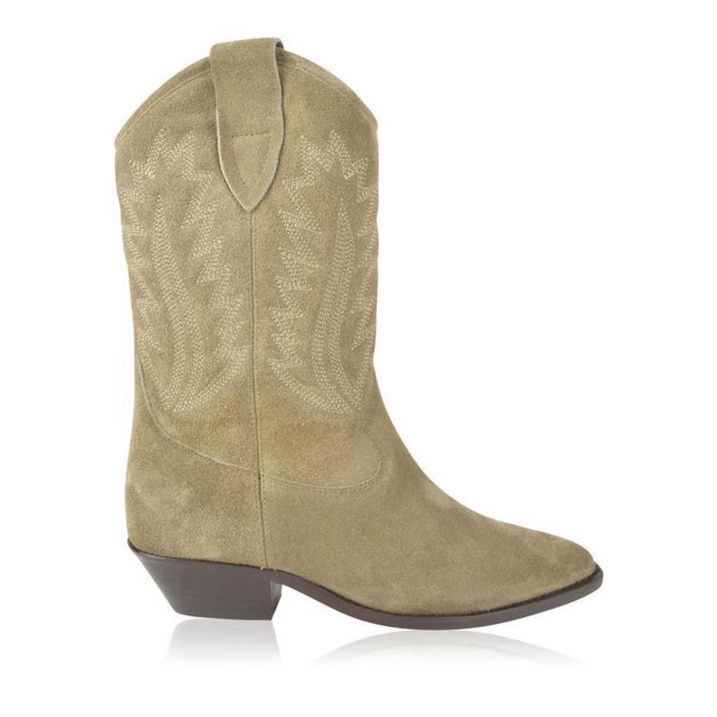 ISABEL MARANT ETOILE Dallin Cowboy Boots