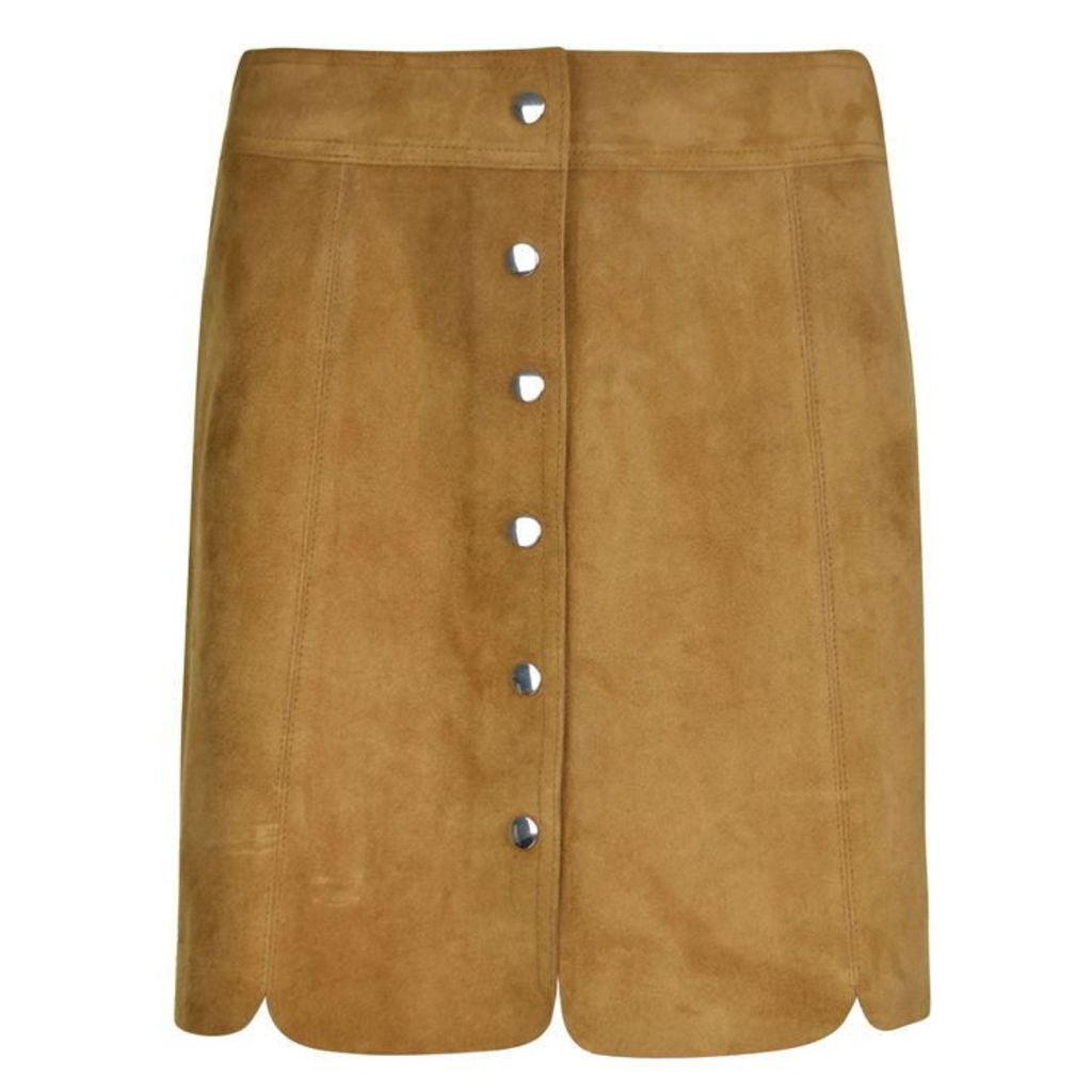 ISABEL MARANT ETOILE Suede Skirt