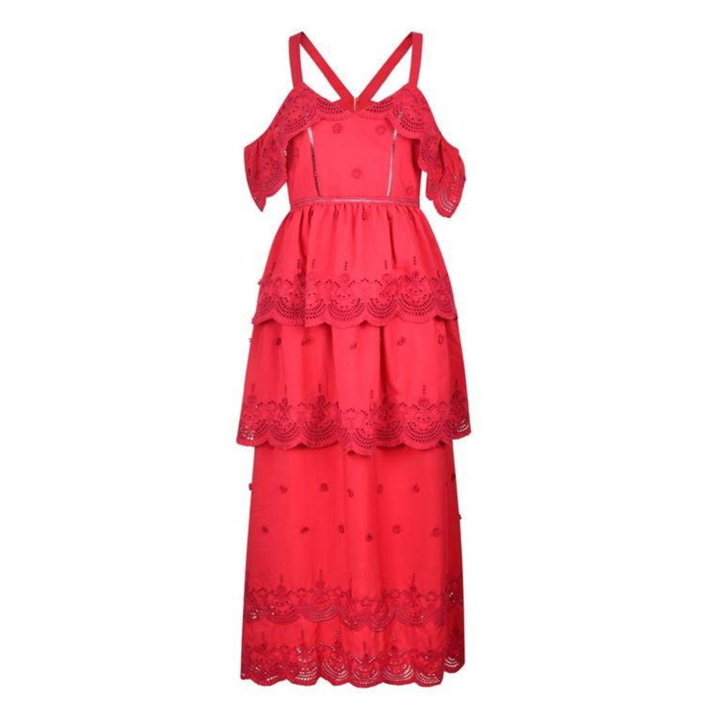 SELF PORTRAIT Off Shoulder Dress