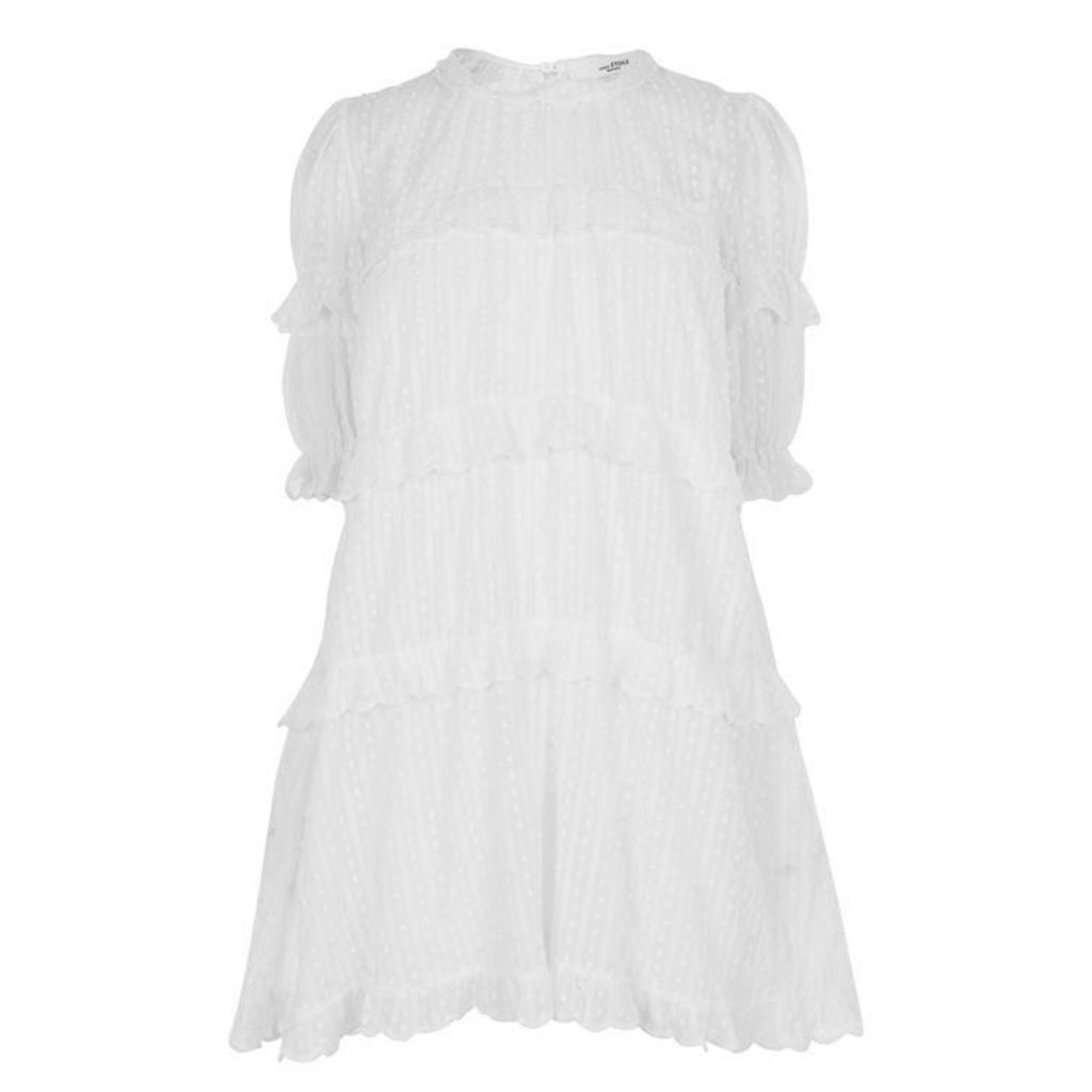 ISABEL MARANT ETOILE Lyin Ruffle Mini Dress