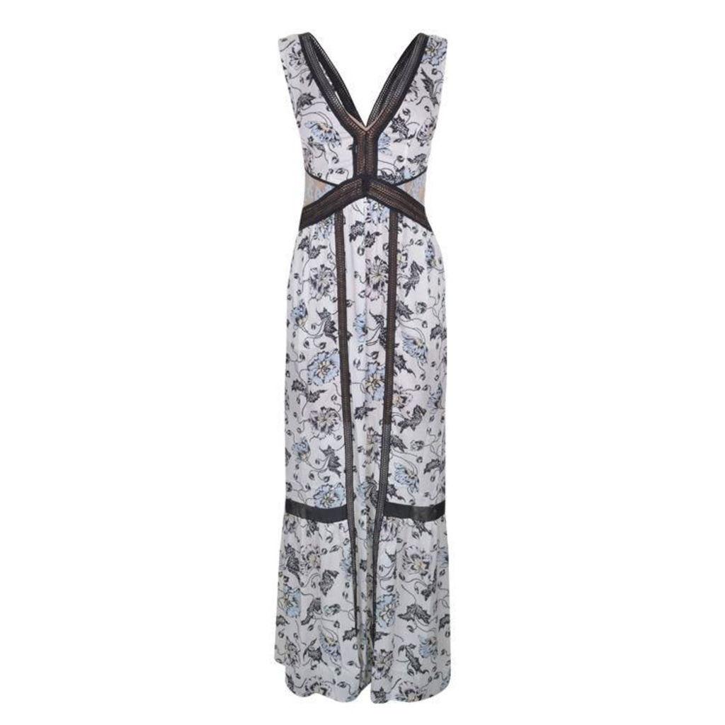 SELF PORTRAIT Clarissa Maxi Dress