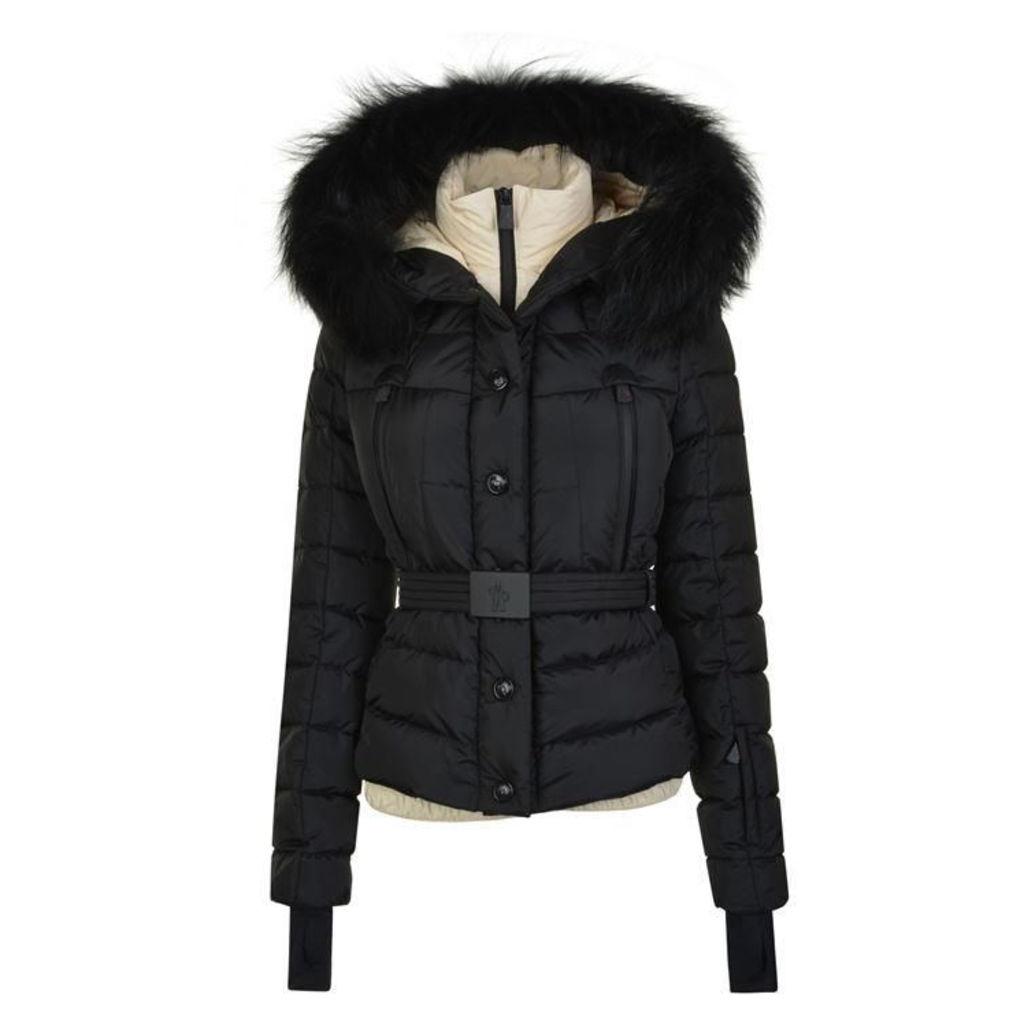 MONCLER GRENOBLE Beverley Fox Hooded Jacket