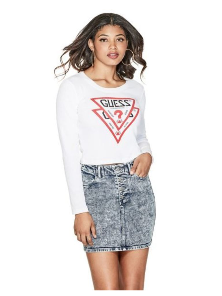 Guess Logo Front Top