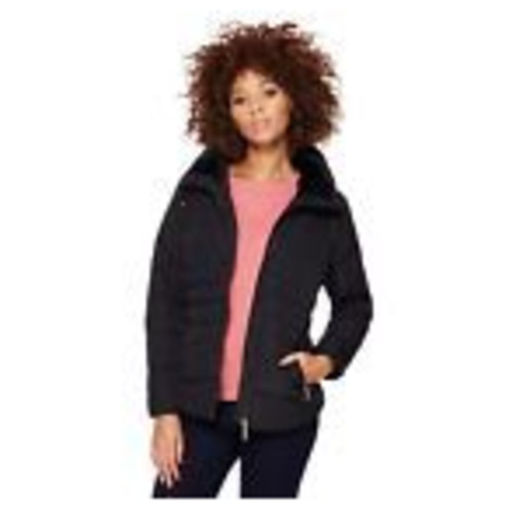 Principles By Ben De Lisi Womens Black Faux Fur Collar Coat From Debenhams