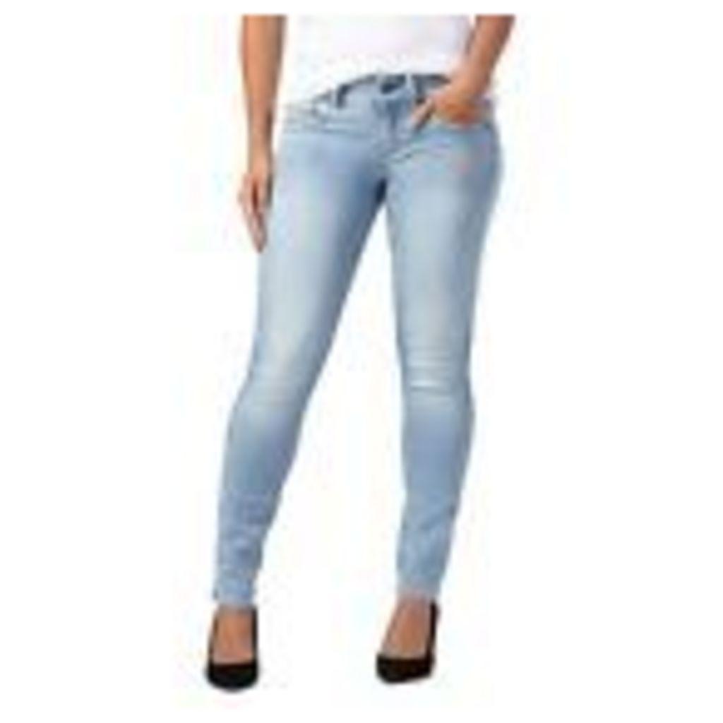 G-Star Womens Light Blue Mid Wash 'Lynn' Skinny Jeans From Debenhams