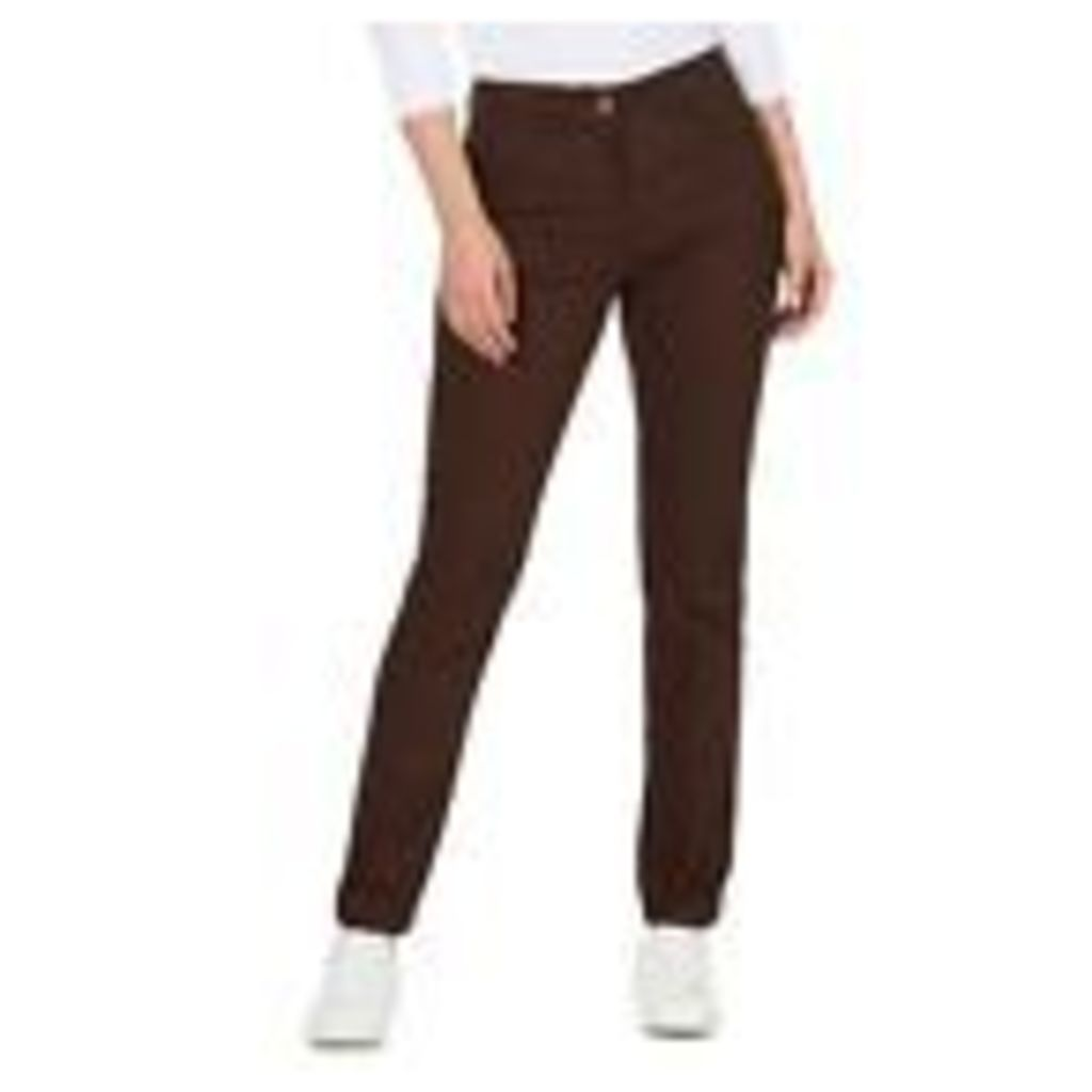 The Collection Womens Dark Brown Straight Leg Jeans From Debenhams