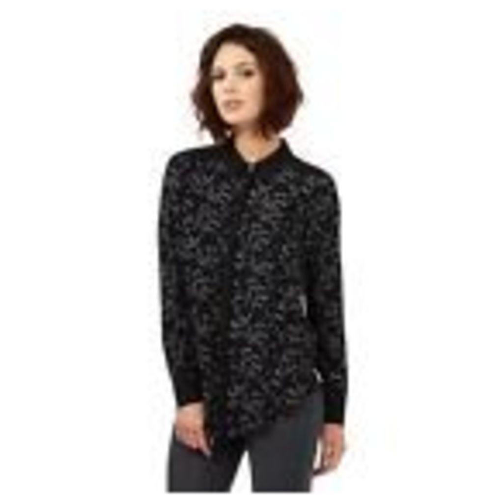 Nine By Savannah Miller Womens Black Star Print Shirt From Debenhams 10