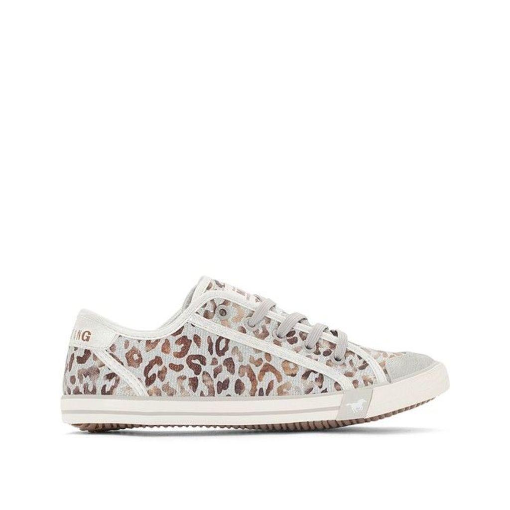 1099315 Leopard Print Trainers