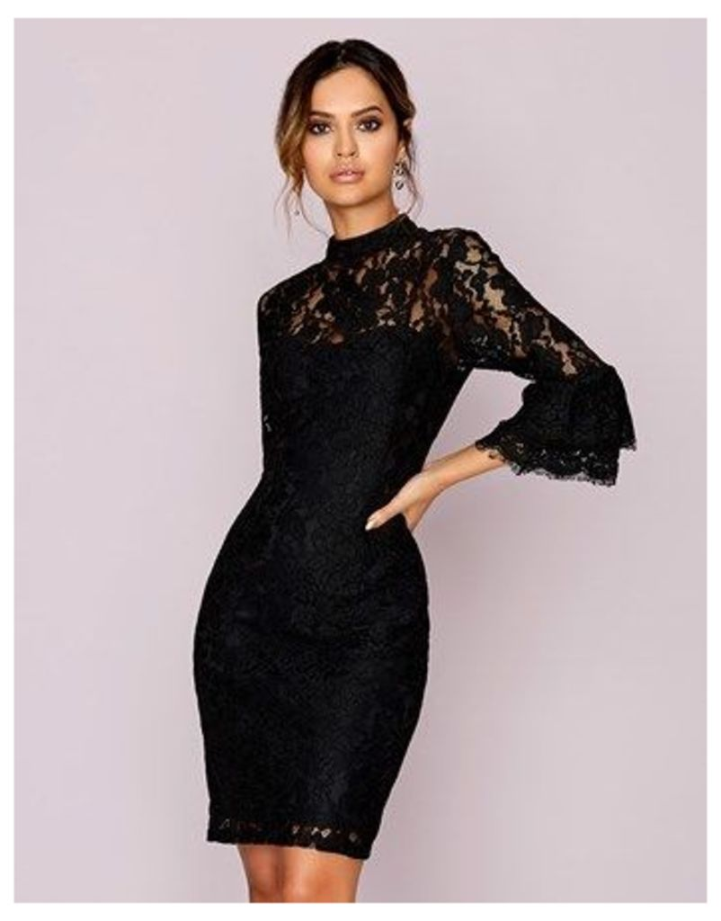 Paperdolls All Over Lace Dress