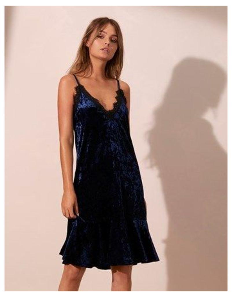 Angeleye Velvet Cami Dress