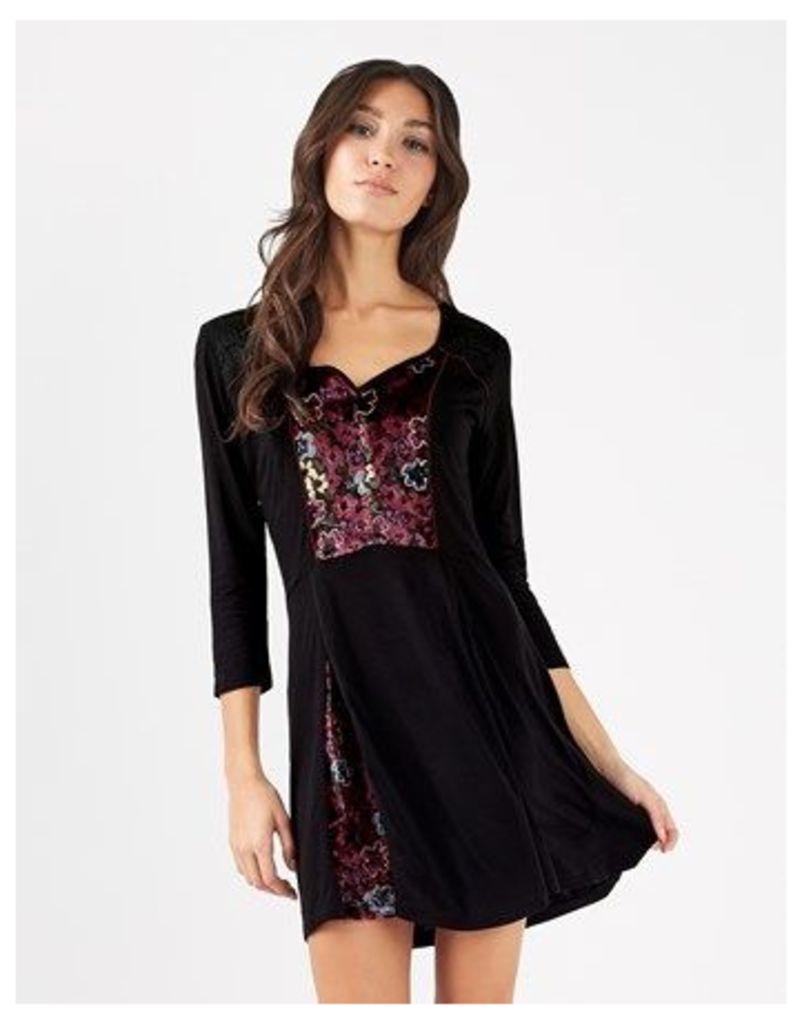 Joe Browns Velvet Tunic Dress