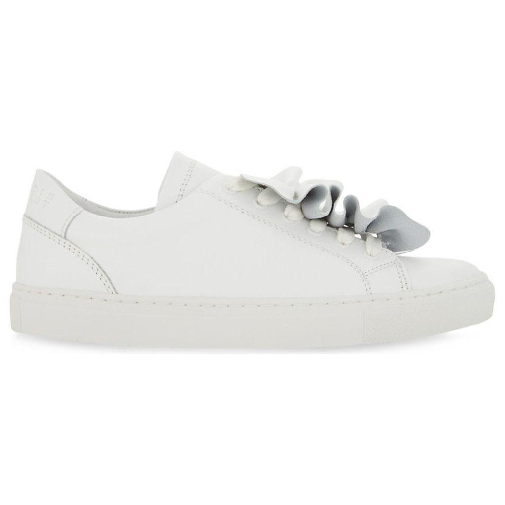 Angelique leather trainers