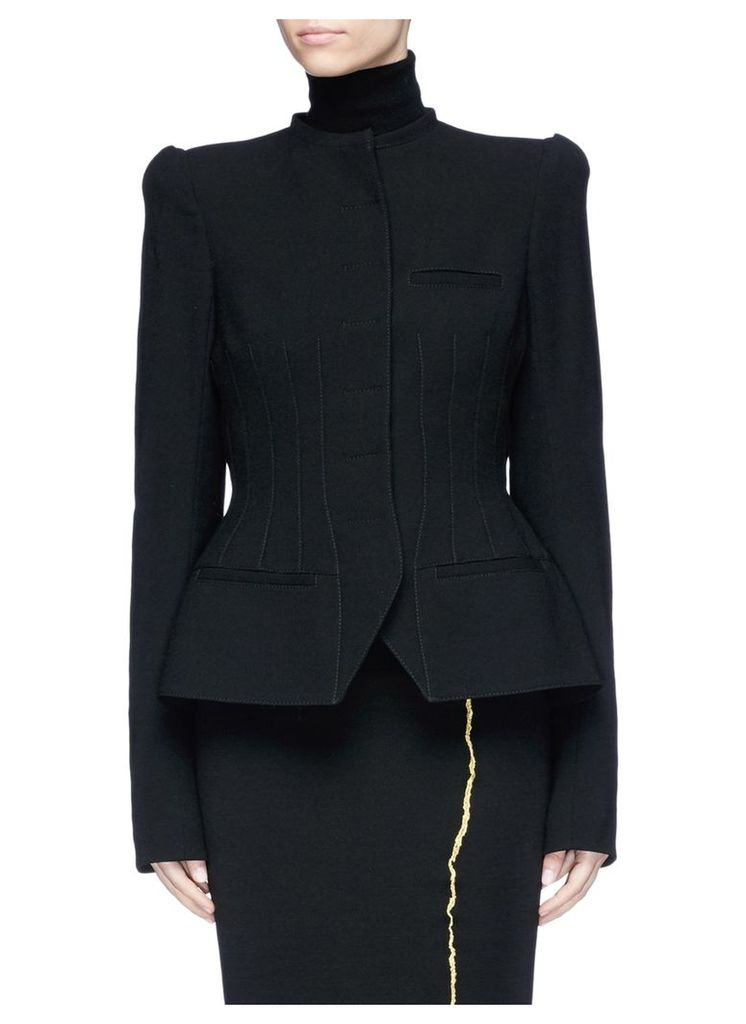 Darted suiting jacket