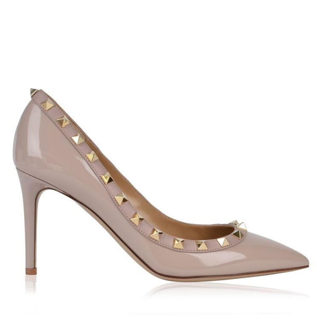 VALENTINO Patent 85 Rockstud Heels