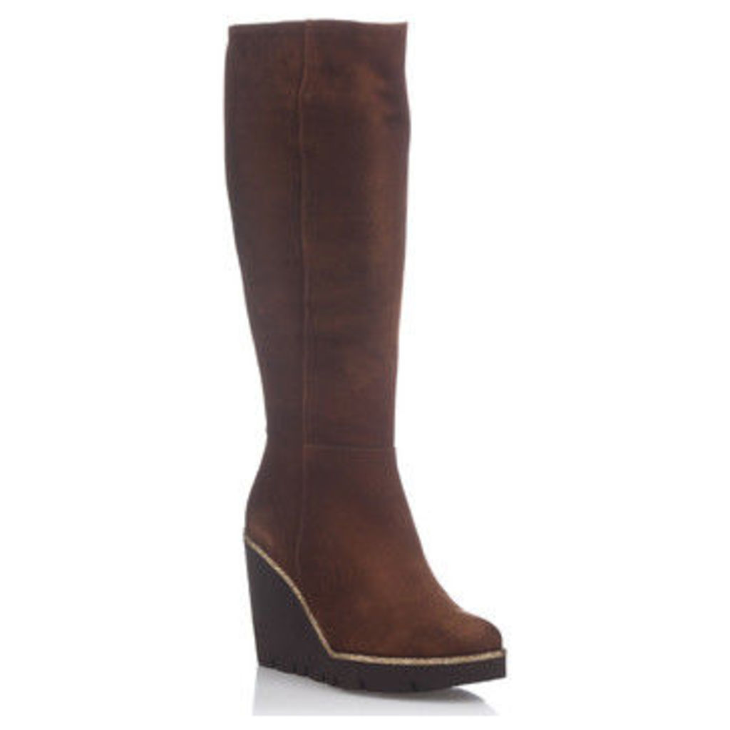 Laura Moretti  Boots ESTEFANIE  women's High Boots in brown