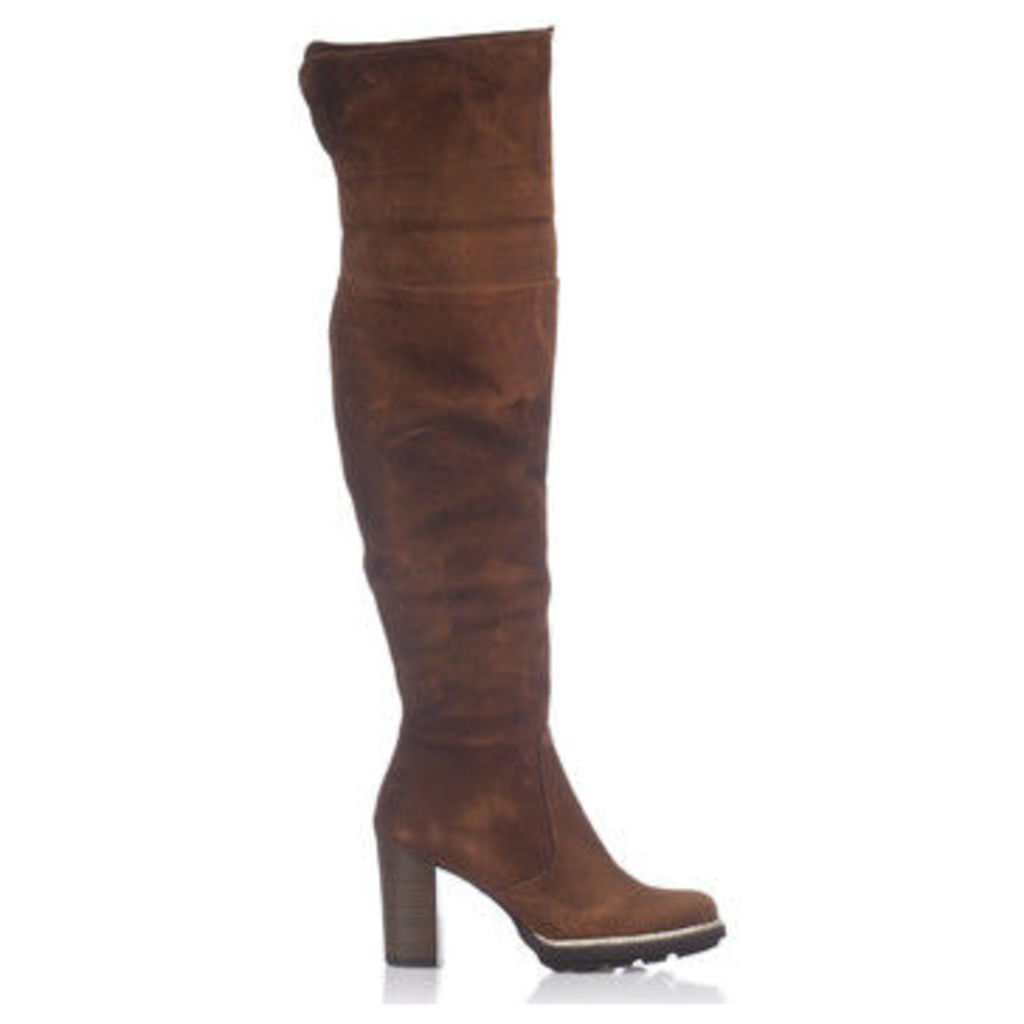 Laura Moretti  Boots EMILIA  women's High Boots in brown