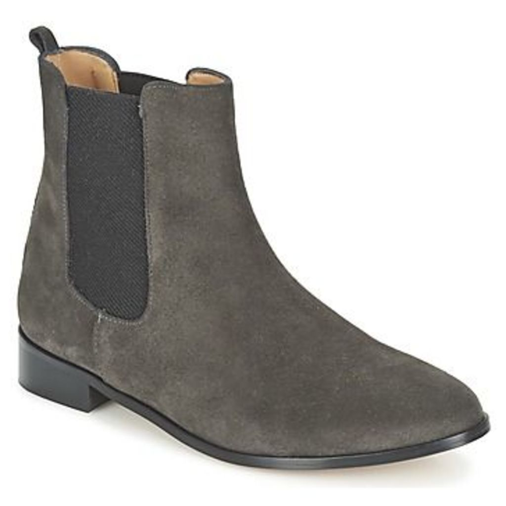 Emma Go  GRIMSBY  women's Mid Boots in Grey