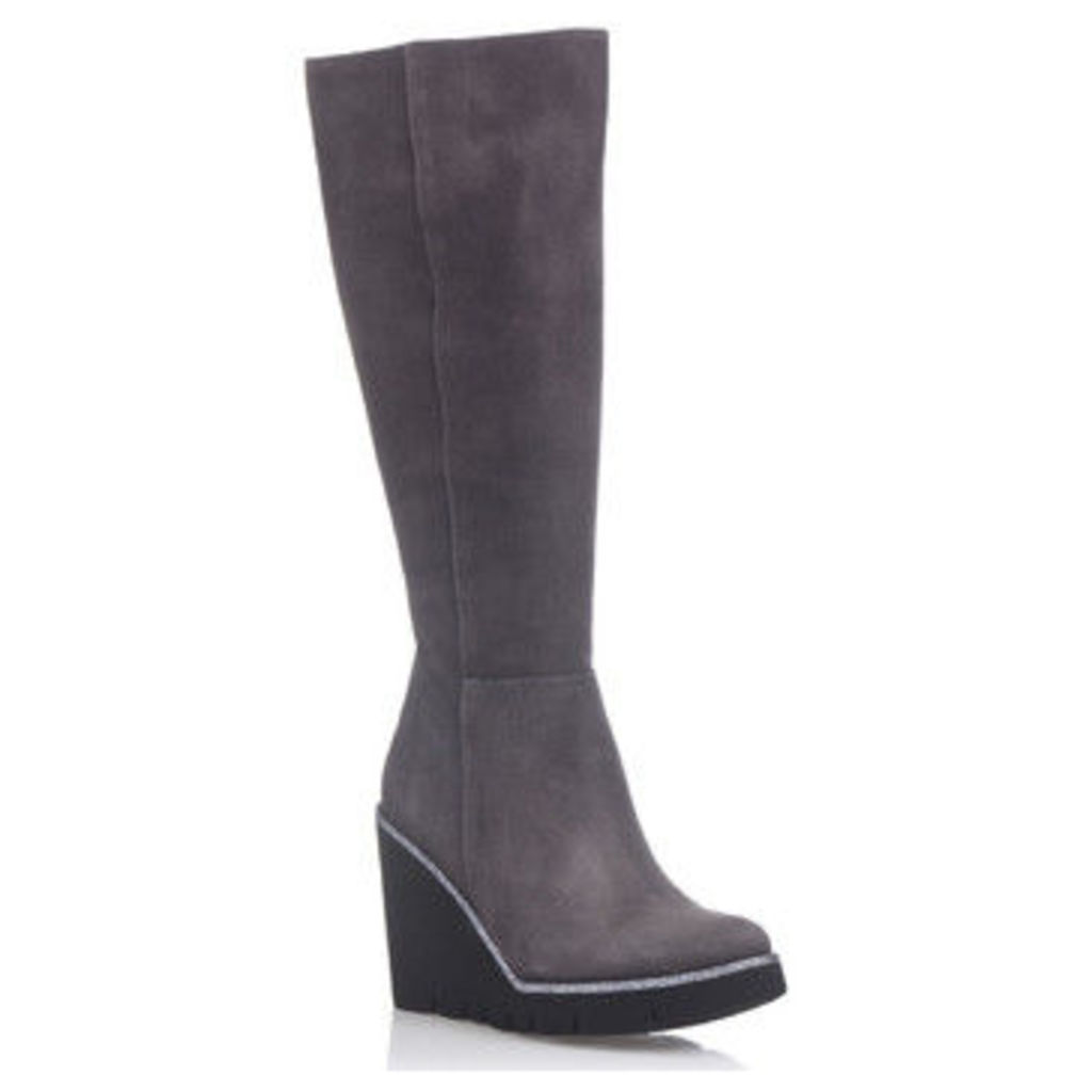 Laura Moretti  Boots ESTEFANIE  women's High Boots in Grey