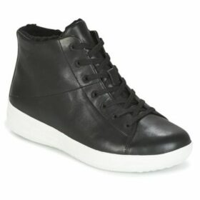 FitFlop  F-SPORTY HIGH-TOP SNEAKER BOOT  women's Shoes (High-top Trainers) in Black