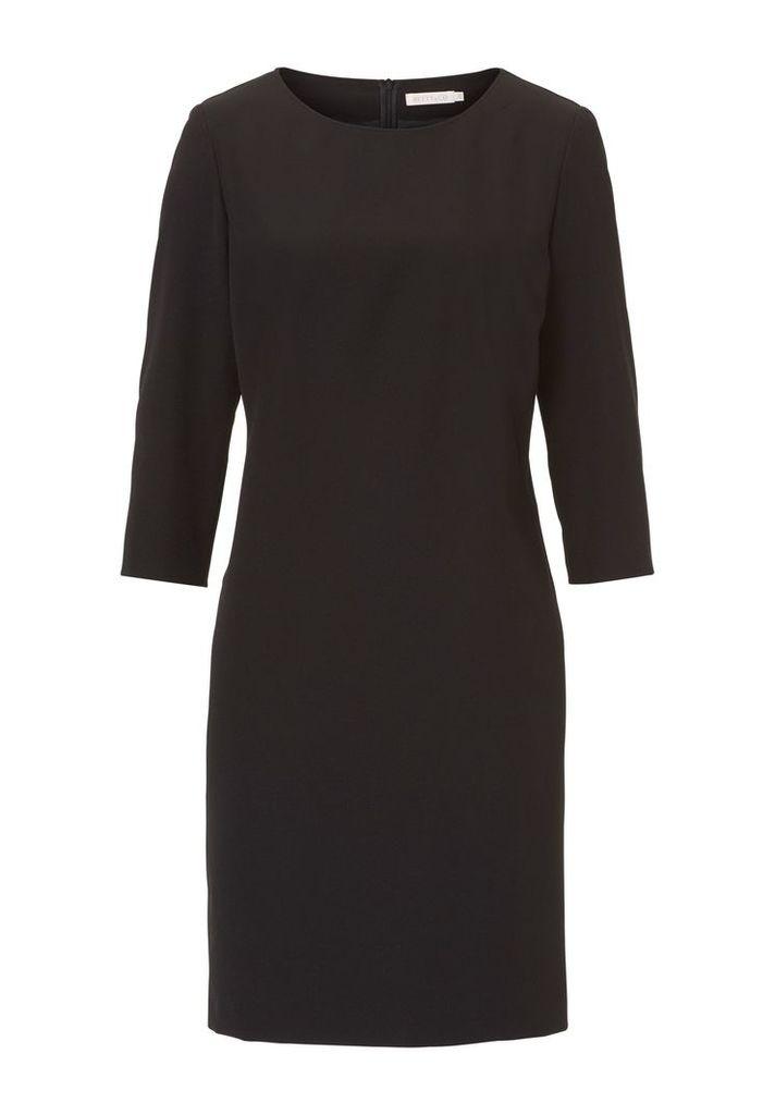 Betty & Co. Crêpe dress, Black