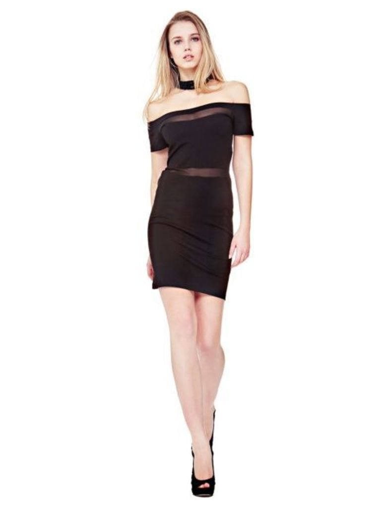 Guess Dress With T Neckline