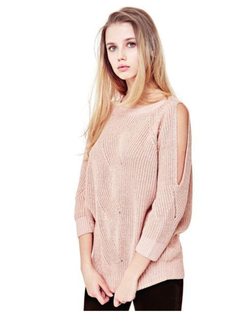 Guess Sweater With Cut-Out Details