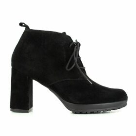 SIGUR Heeled Leather Lace-Up Boots