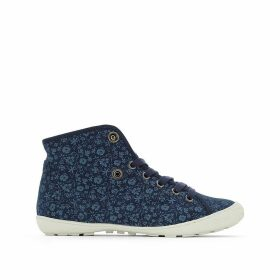 Gaetane Print High Top Trainers