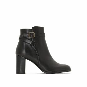 Akil Leather Ankle Boots