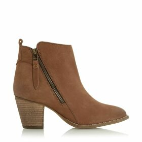 Pontoon Leather Ankle Boots