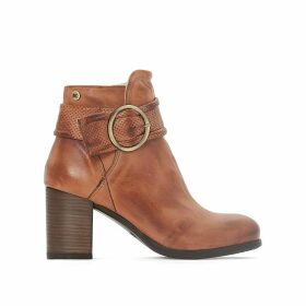 Willa Leather Ankle Boots