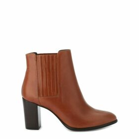 Elane Leather Ankle Boots