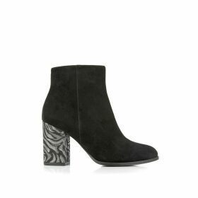 Caly Leather Ankle Boots