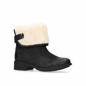 Womens Aldon Ankle Boots Ugg Black, 3 UK