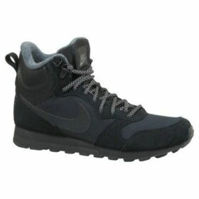 Nike  MD Runner 2 Mid  women's Walking Boots in Black