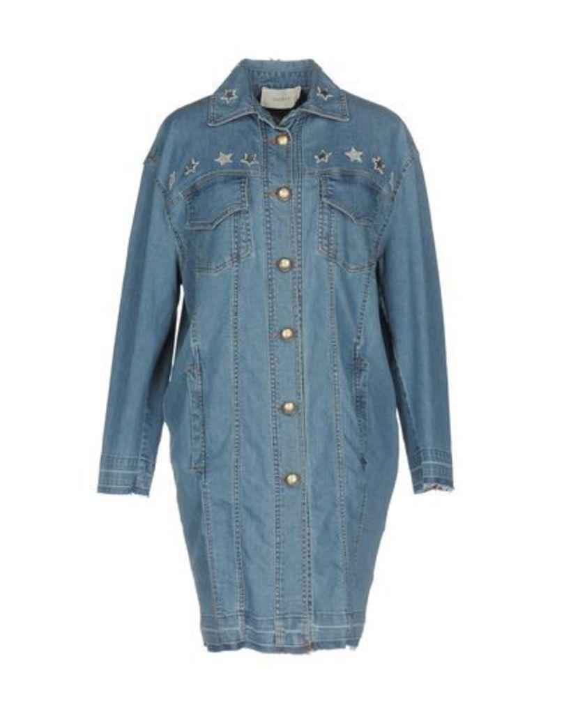 LUCILLE DENIM Denim outerwear Women on YOOX.COM