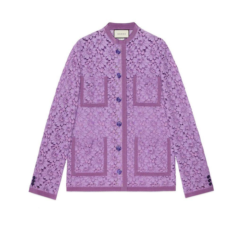 Flower lace jacket