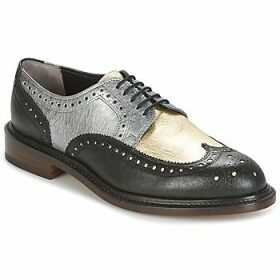 Robert Clergerie  ROELN-GRAFFITI-NOIR-OR-ARGENT  women's Casual Shoes in Black