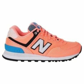 New Balance  WL574ASA  women's Shoes (Trainers) in Orange