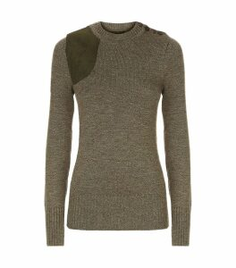 Merino Wool Shooting Sweater