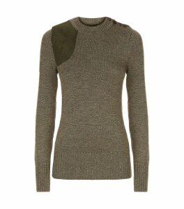 Merino Wool Shooting Sweater