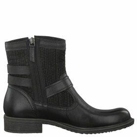 Anouk Leather Biker Boots