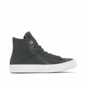 CTAS II Craft Leather High Top Trainers