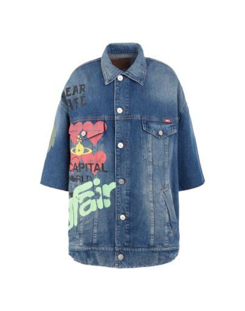 VIVIENNE WESTWOOD ANGLOMANIA DENIM Denim outerwear Women on YOOX.COM