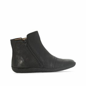 Happli Leather Ankle Boots