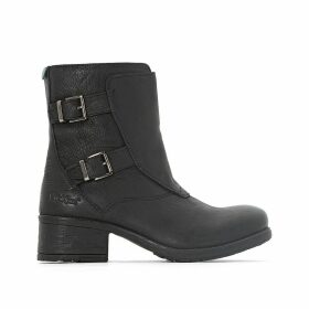 Rekkan Leather Ankle Boots