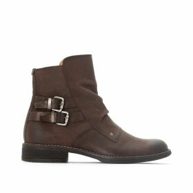 Smatch Leather Ankle Boots