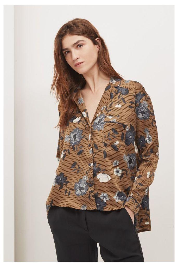 Fortune Floral Pyjama Top