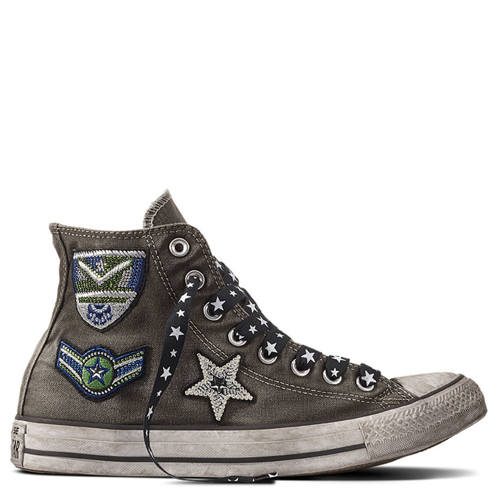 Chuck Taylor All Star Army Patchwork