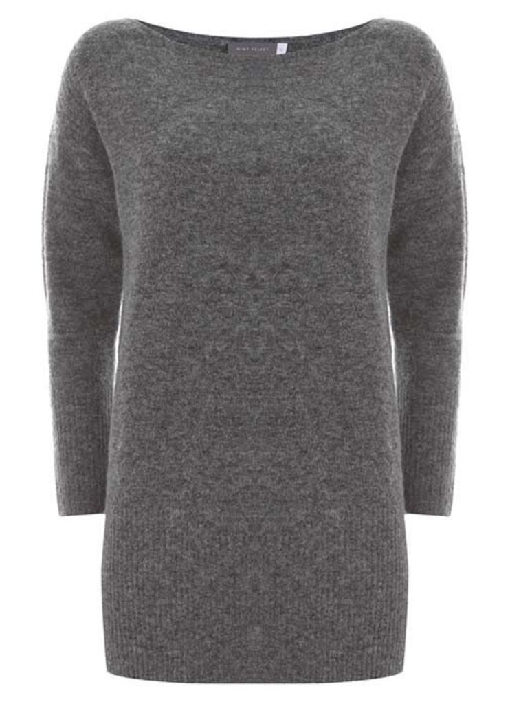 Granite Ribed Side Tunic